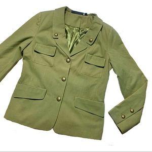 Rachel Zoe NWOT Military Boyfriend Blazer Jacket